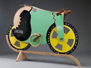 The finished Splinter Bike...