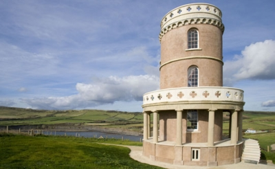 The finished Clavell Tower can now be booked as a place to stay